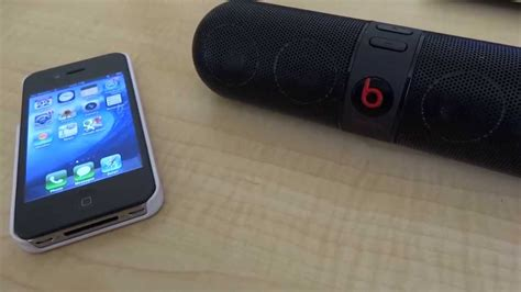 How to Connect a Beats Pill Bluetooth Speaker - YouTube