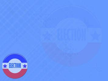 US Elections 04 PowerPoint Template