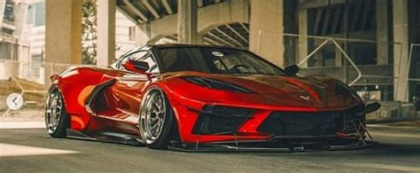 Widebody C8 Corvette Rendered by Need For Speed: Heat