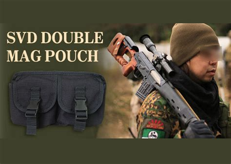 ASF SVD Double Mag Pouch | Popular Airsoft