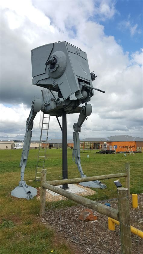 Star Wars Fanatic Creates Full-Size AT-ST Walker, Complete
