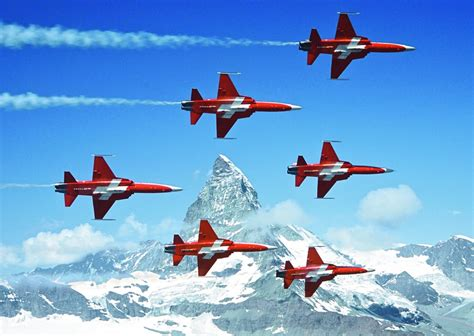 Patrouille Suisse - Swiss Collection - 1000 Teile