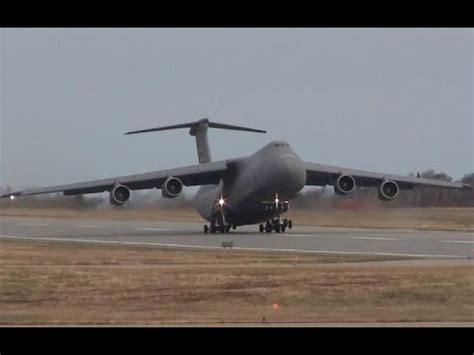 Extremely Loud C-5 Galaxy Takeoff - YouTube