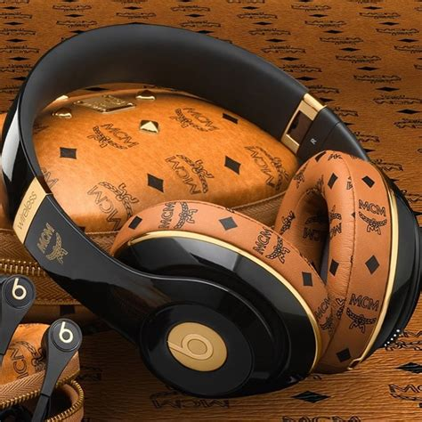 The Beats x MCM Collection is a premium collaboration