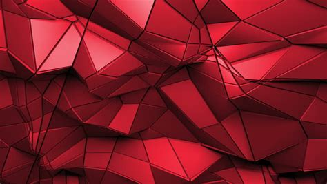 Abstract 3d Panel Rendered Geometric Stock Footage Video