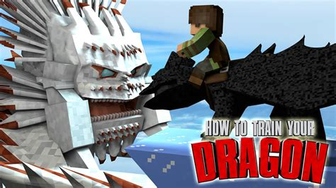 """Minecraft   How To Train Your Dragon Ep 26! """"WAR BEGINS"""