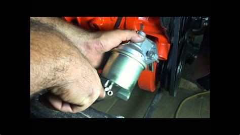 how to install chevelle fuel pump big block 454 - YouTube
