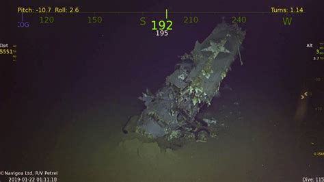 Searchers find WWII-era ship USS Hornet, which launched