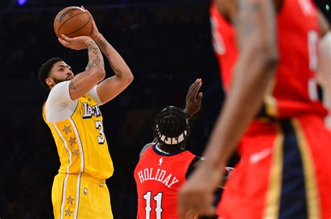 NBA: Anthony Davis lights up ex-team again, as Lakers top
