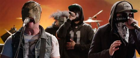 """Hollywood Undead Premiere """"Day Of The Dead"""" Music Video"""
