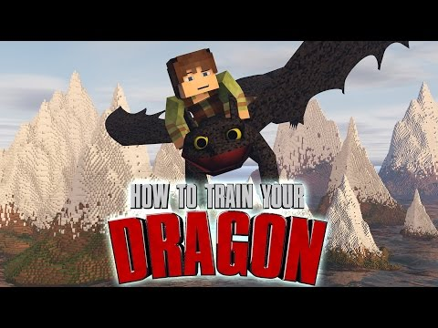 How to train your dragon ( Isle of berk ) Minecraft Map