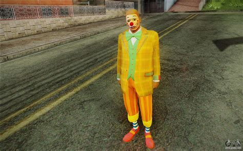The clown from GTA 5 for GTA San Andreas
