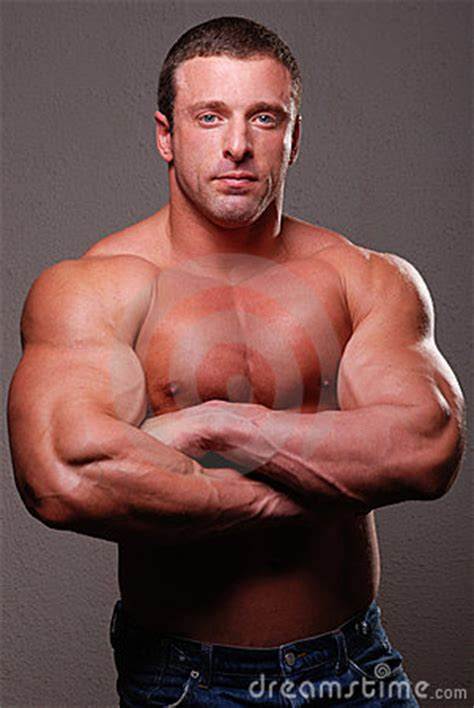 Muscle Male Model Royalty Free Stock Images - Image: 12288469