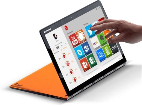 Lenovo Yoga 3 Pro Laptop and Tab 2 A7-30 Tablet Launched