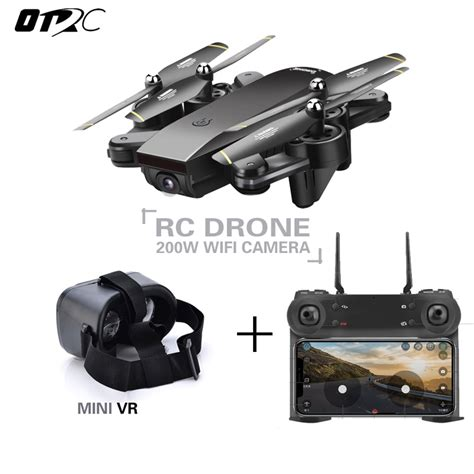 RC Foldable Selfie RC Drone With FPV Wifi Camera Altitude